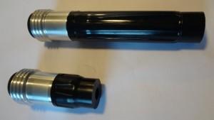 Puhallussuutin 4,8 mm ja 12,5 mm